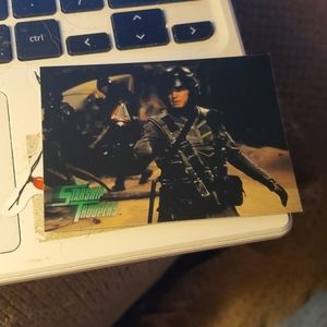 Rescue starship troopers card